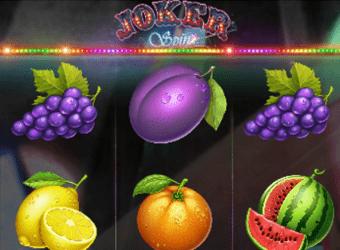joker spin nyerőgép kaszinó játék