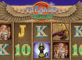 pyramid treasure nyerőgép kaszinó játék