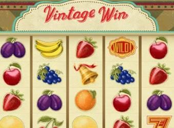 vintage win nyerőgép kaszinó játék