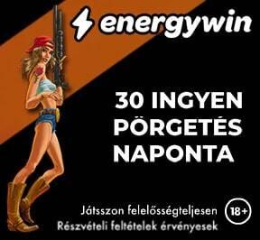 EnergyWin 30 ingyen pörgetés