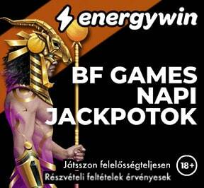 EnergyWin Napi Jackpotok